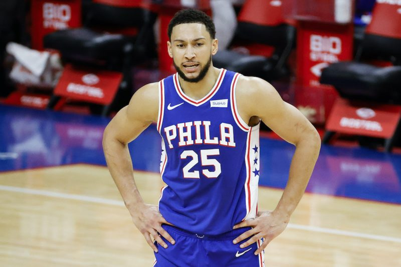 Simmons Snaps on the Sixers